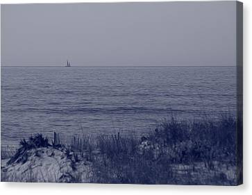 At Sea Canvas Print by Christopher Kirby