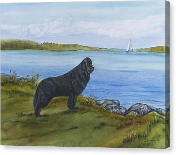 At Seneca Lake Canvas Print by Sharon Nummer