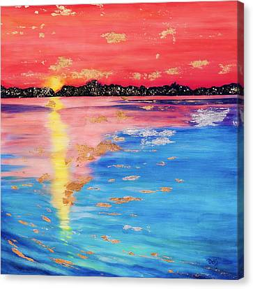 At Sunset Canvas Print by Debi Starr