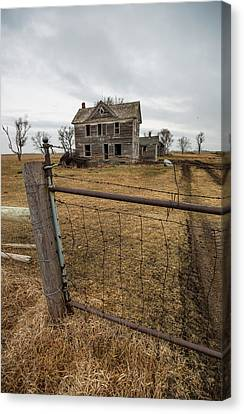 Canvas Print featuring the photograph At The Gate  by Aaron J Groen