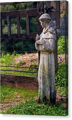 Francis Canvas Print - At The Gate by Terry Davis