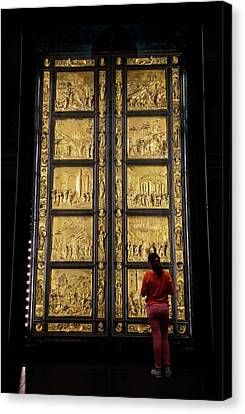 Canvas Print featuring the photograph At The Gates Of Paradise by Joan Carroll
