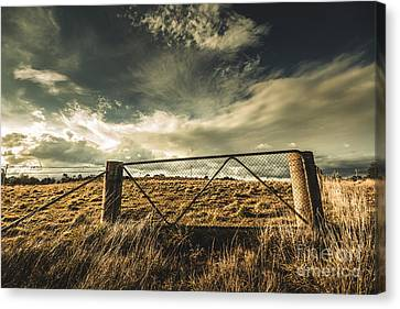 At The Gates Canvas Print
