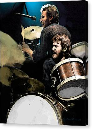 At The Helm  Levon Helm  Canvas Print