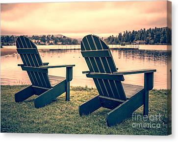 At The Lake II Canvas Print by Edward Fielding