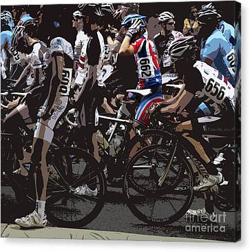 At The Starting Gate Canvas Print