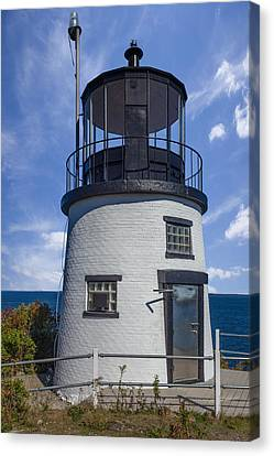 At The Top Canvas Print by Capt Gerry Hare