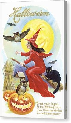 At The Witching Hour Canvas Print