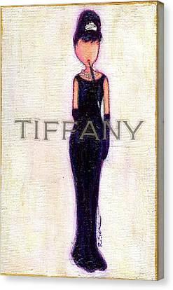 At Tiffany's Canvas Print by Ricky Sencion