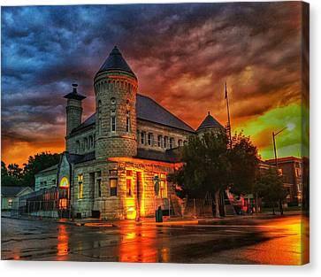 Atchison Post Office  Canvas Print by Dustin Soph