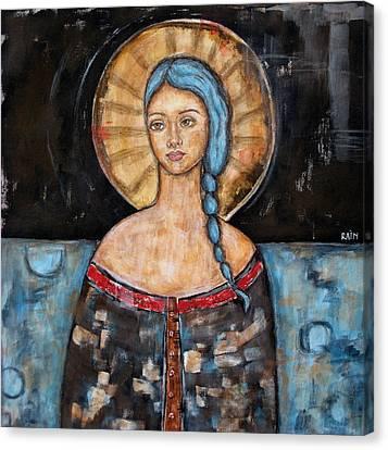 Athena Canvas Print by Rain Ririn