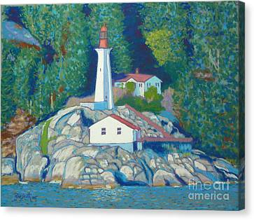 Atkinson Point Lighthouse Canvas Print