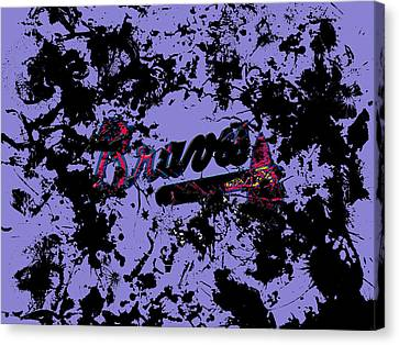 Atlanta Braves 1e Canvas Print