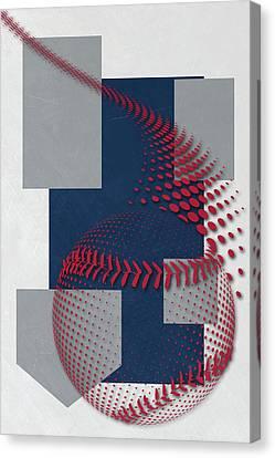 Atlanta Braves Art Canvas Print by Joe Hamilton