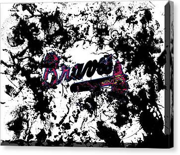 Atlanta Braves B1 Canvas Print
