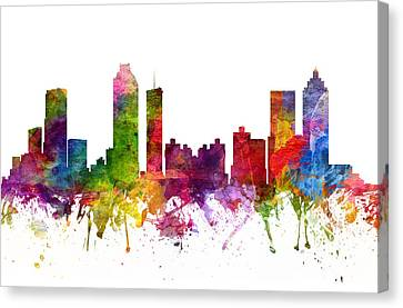 Atlanta Cityscape 06 Canvas Print