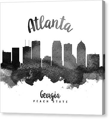 Atlanta Georgia Skyline 18 Canvas Print by Aged Pixel