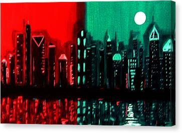 Atlanta Canvas Print by Linda Powell