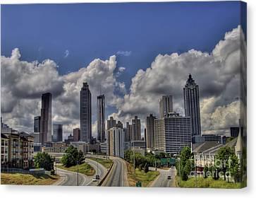 Atlanta Convention Canvas Print - Atlanta Skyline by Corky Willis Atlanta Photography