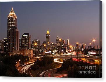 Atlanta Skyline - Scad Canvas Print