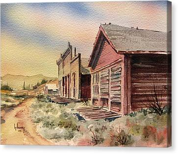 Atlantic City Ghost Town Wyoming Canvas Print by Kevin Heaney