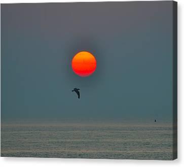 Atlantic City Sunrise Canvas Print