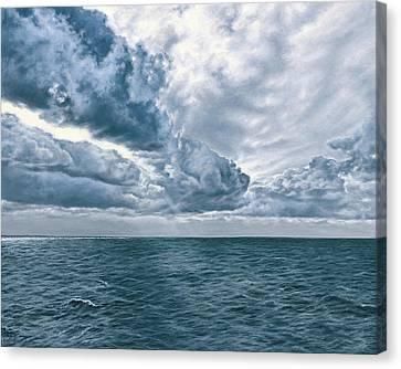 Atlantic Canvas Print by Darrel Kanyok