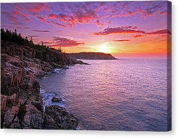 Atlantic Glow Canvas Print