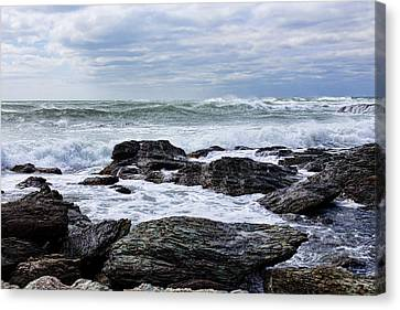 Canvas Print featuring the photograph Atlantic Scenery by Andrew Pacheco