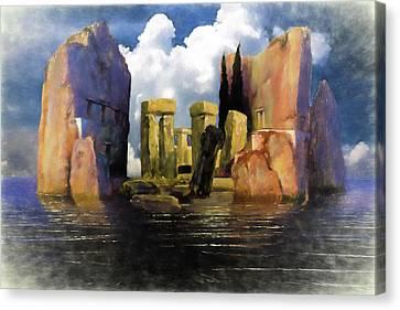 Atlantis Canvas Print - Atlantis by John Haldane