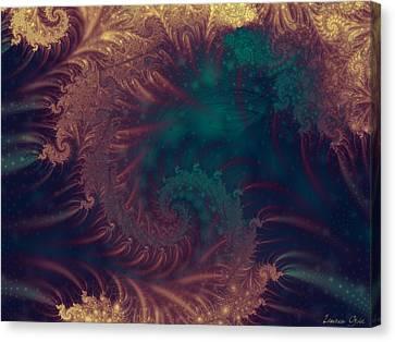 Atlantis Canvas Print by Lauren Goia