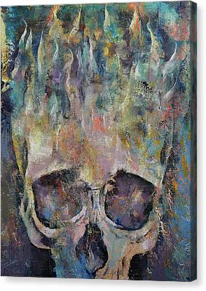 Atlantis Canvas Print by Michael Creese