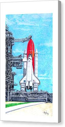 Atlantis Canvas Print by Murphy Elliott
