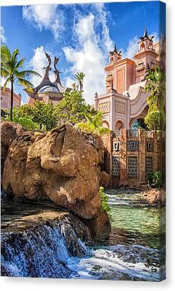 Atlantis Paradise Island - Nassau Canvas Print by Jon Berghoff
