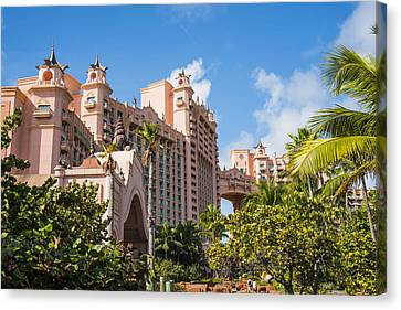 Atlantis Resort - Nassau - Bahamas Canvas Print by Jon Berghoff