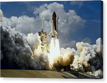 Atlantis Canvas Print - Atlantis Shuttle Launch by Daniel Hagerman