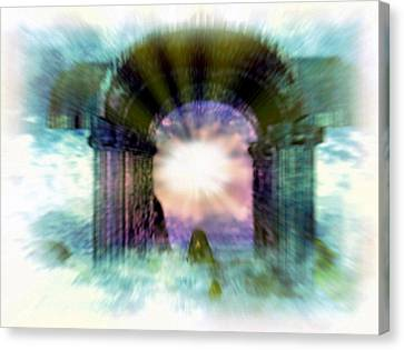 Atlantis Canvas Print - Atlantis Welcomes You by Rebecca Phillips