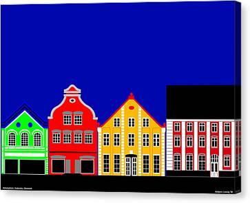 Atmosphere Haderslev Denmark Canvas Print by Asbjorn Lonvig