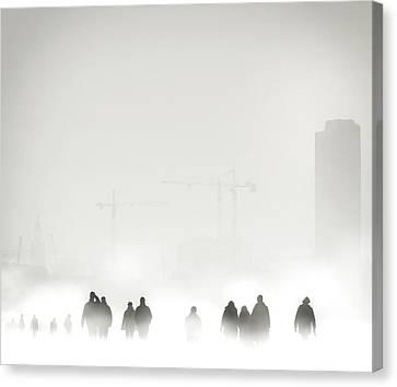 Atmosphere Canvas Print by Piet Flour