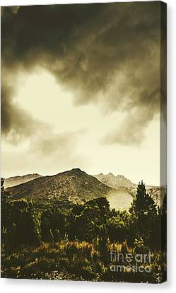 Atmospheric Hills And Valleys Canvas Print by Jorgo Photography - Wall Art Gallery