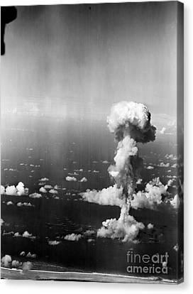 Atomic Bomb Test, 1946 Canvas Print by Granger