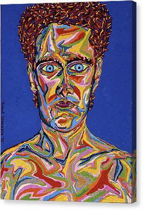 Atomic Visions - Self Portrait Canvas Print by Robert SORENSEN