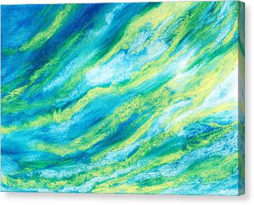 Attitude - Sky And Clouds Collection Canvas Print by Anastasiya Malakhova