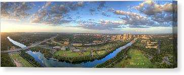 Austin Smile Canvas Print by Andrew Nourse