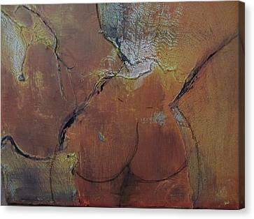 Au Gauze Canvas Print by Gail Butters Cohen