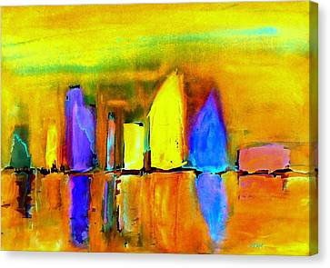Aubade - To Love Canvas Print by VIVA Anderson