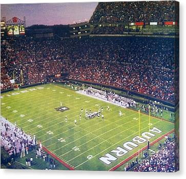 Auburn Football Canvas Print