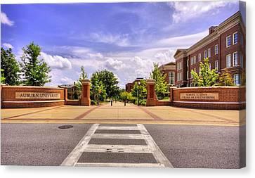 Auburn University Campus Life Canvas Print by JC Findley