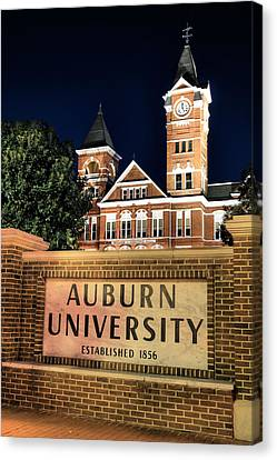 Auburn University Canvas Print by JC Findley