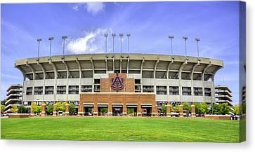 Auburn University Jordan Hare Stadium Canvas Print by JC Findley